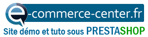 PrestaShop Démo E Commerce Center