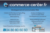 Site internet de démo E Commerce Center CMS Prestashop